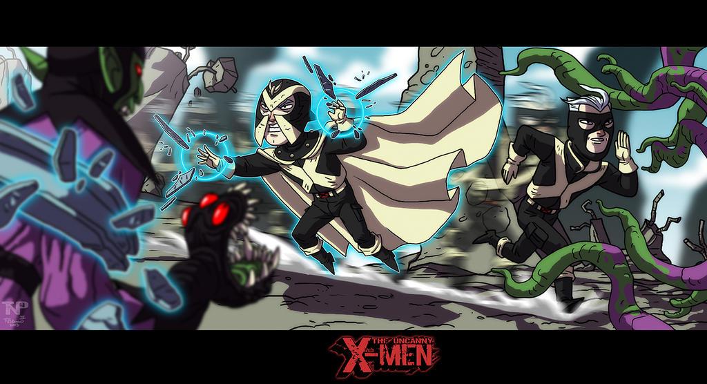 The Uncanny X-Men: The Skrull Wars by tnperkins