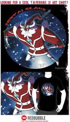 Sentai Clause T-Shirts! by tnperkins