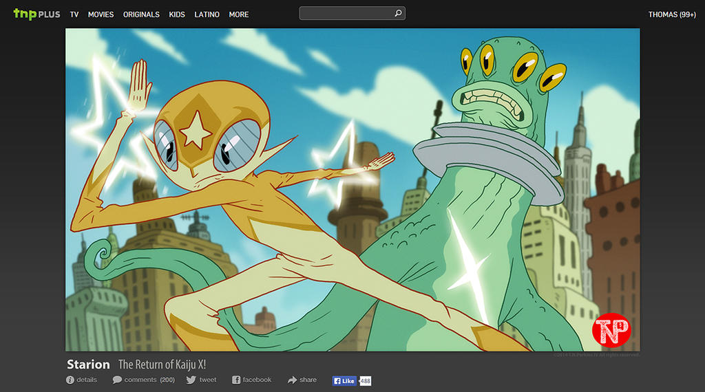Saturday Morning Tokusatsu Brawling... by tnperkins