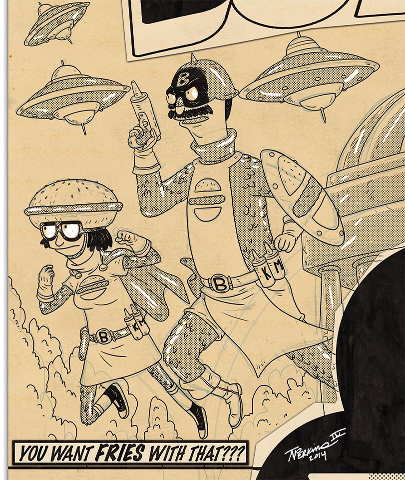 Bento Box Comics detail 1 by tnperkins