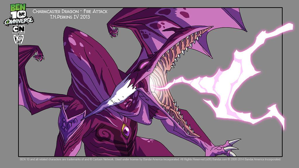 Portfolio Work: Charmcaster Dragon Form by tnperkins