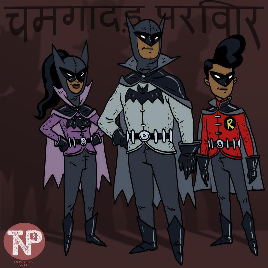 Bat Family Mumbhai by tnperkins