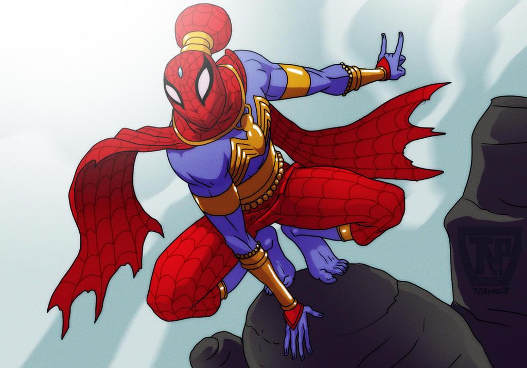 Spider-Man India... by tnperkins
