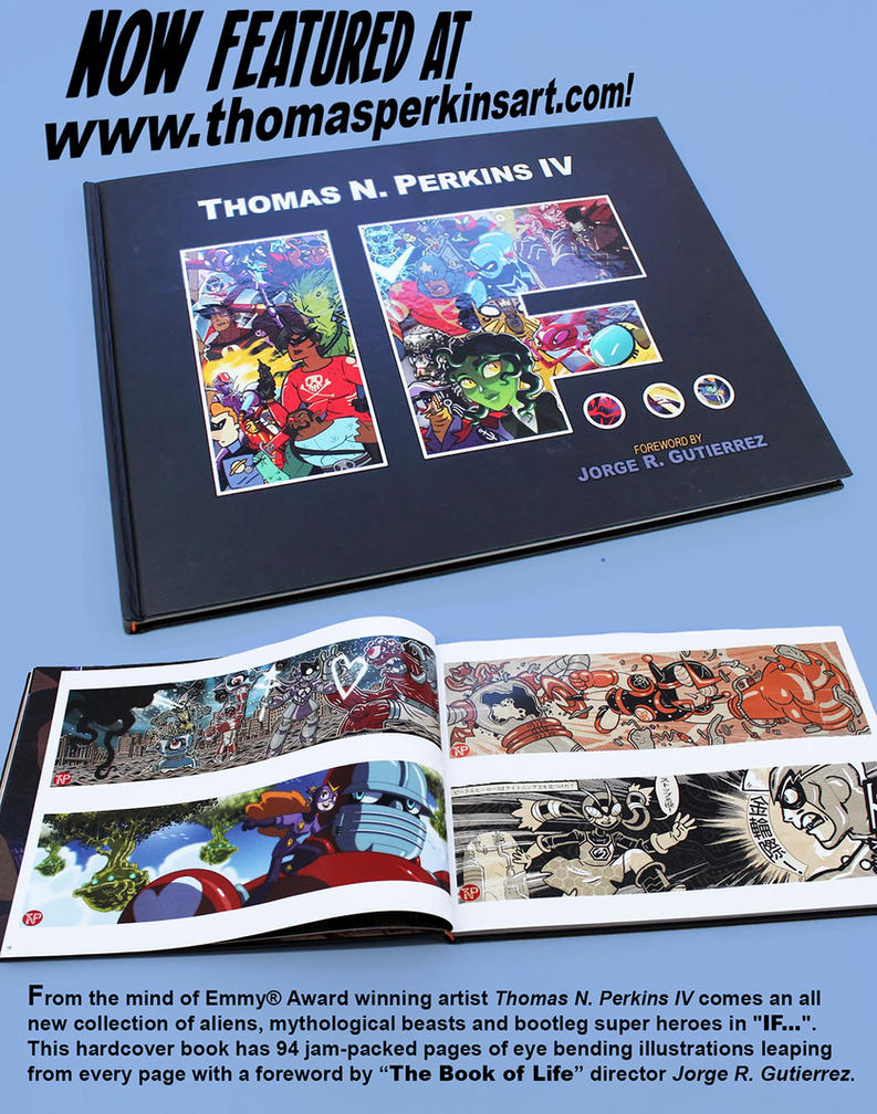 New art book is now available by tnperkins