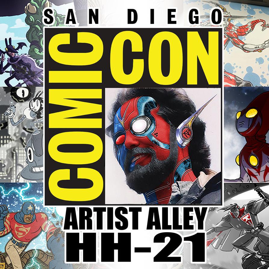 San Diego Comic Com 2017 by tnperkins