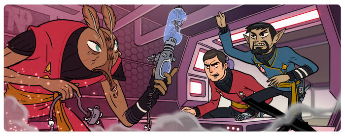 Star Trek - Away Team #7 - Dark Mirror