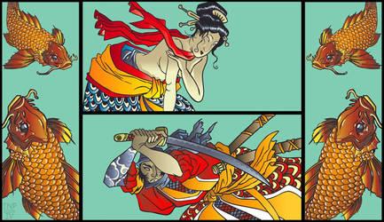 Yakuza Bar Art... by tnperkins