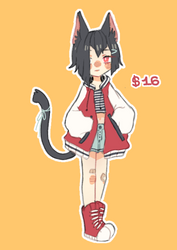 [CLOSED] Street cat Adoptable [$16] by Bumcchi