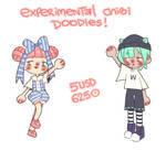 Experimental Chibi Doodles! by Bumcchi