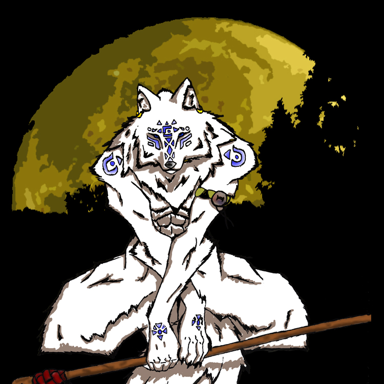 Moon Warrior Sheiba by Sheiba-Wolf