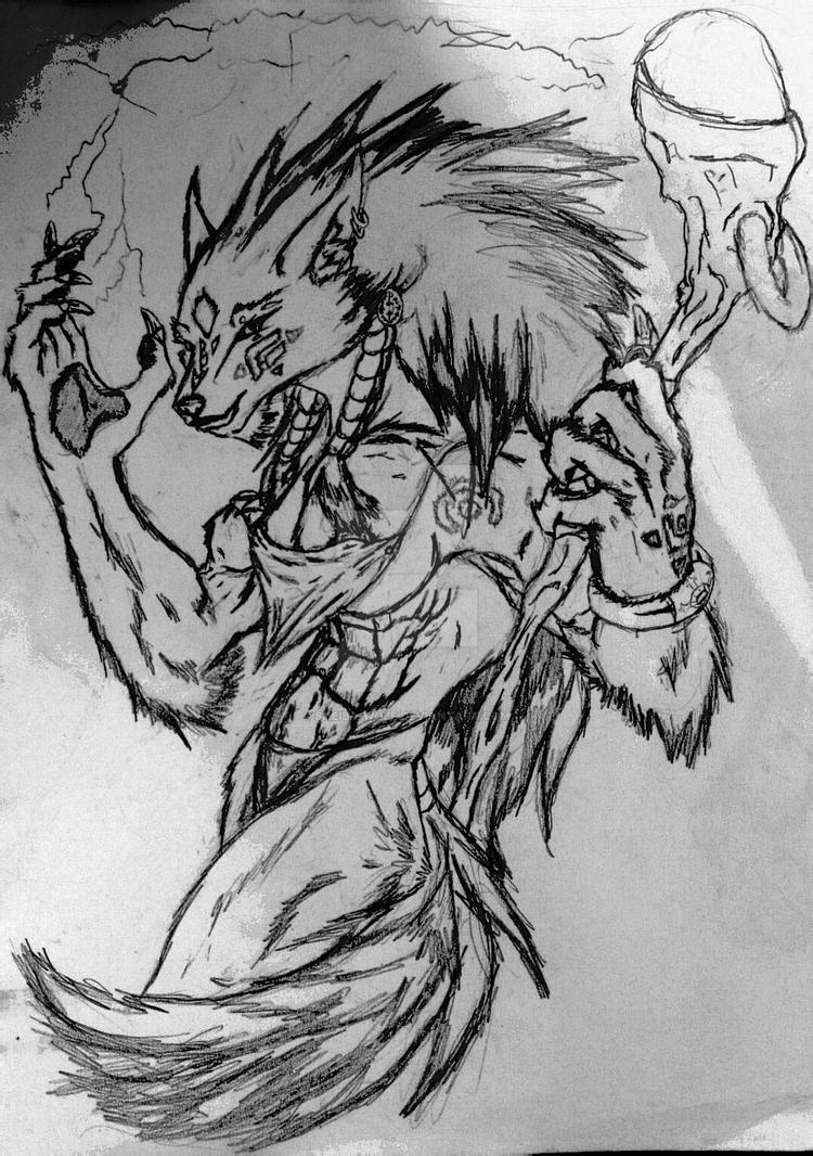 Sheba's electrifying personality by Sheiba-Wolf