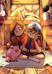 The Mystery Twins ~ feat Waddles - Gravity Falls