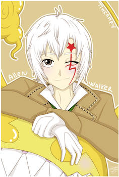 D.Gray-Man - Allen Walker