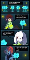 Undertale Comic - Echo Flowers' Story