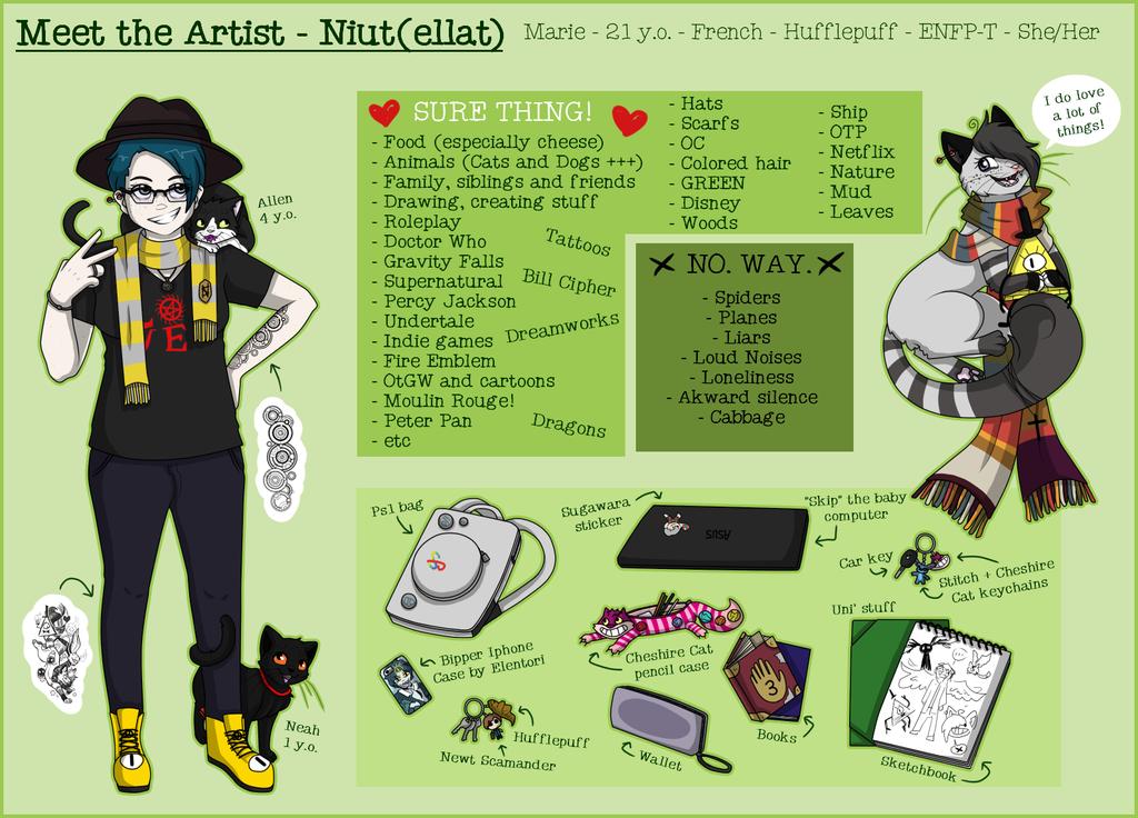 Meet the Artist - Niutellat by Niutellat