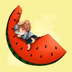 [ArtFight] Watermelon Ryoko by Niutellat