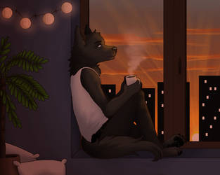 [COMMISSION] - First lights by Niutellat