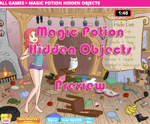 Magic Potions - Hidden Objects