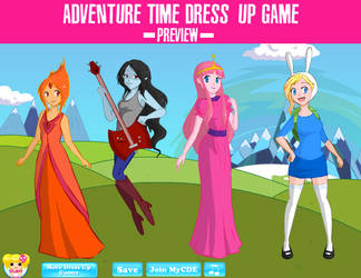 Adventure Time Dress-up Game by Andorea-Chan
