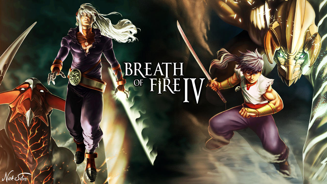 Breath Of Fire 4 Wallpaper By Nicktrickster On Deviantart