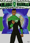 Green Lantern John Stewart by ProfanityBeaver