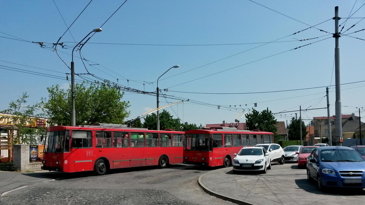 Old trolleybuses at Radiova by 15miki15
