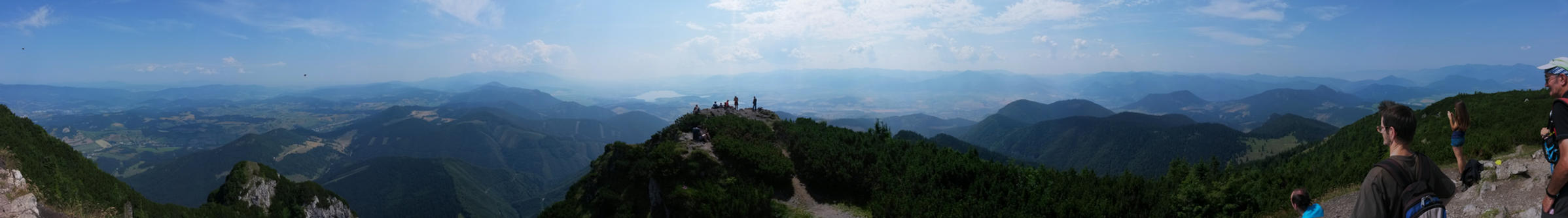 Pano view from Velky Choc by 15miki15