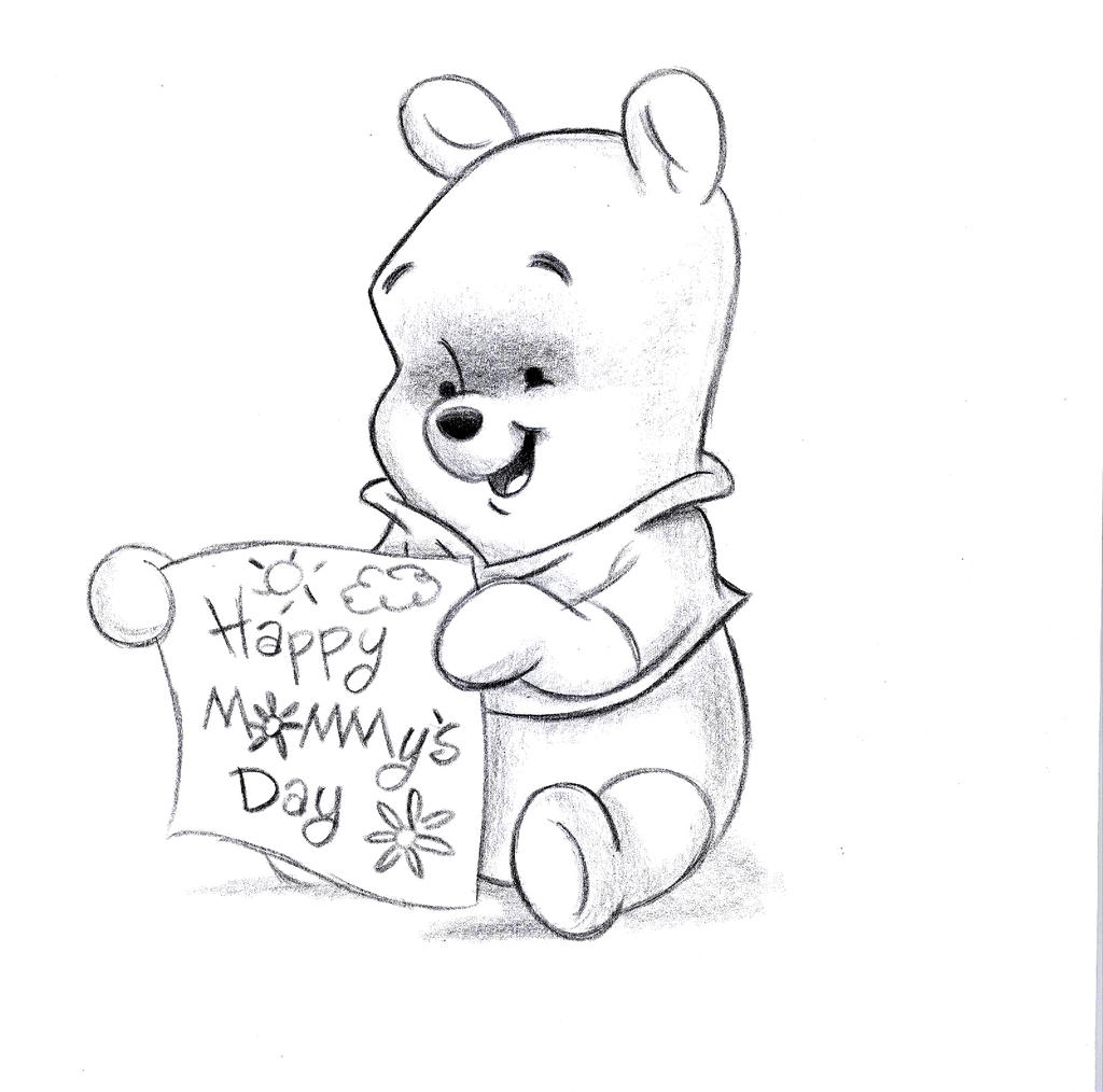 Baby Pooh Happy Mothers Day by JRphoenix on DeviantArt