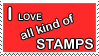 Stamp Lover by joniimo