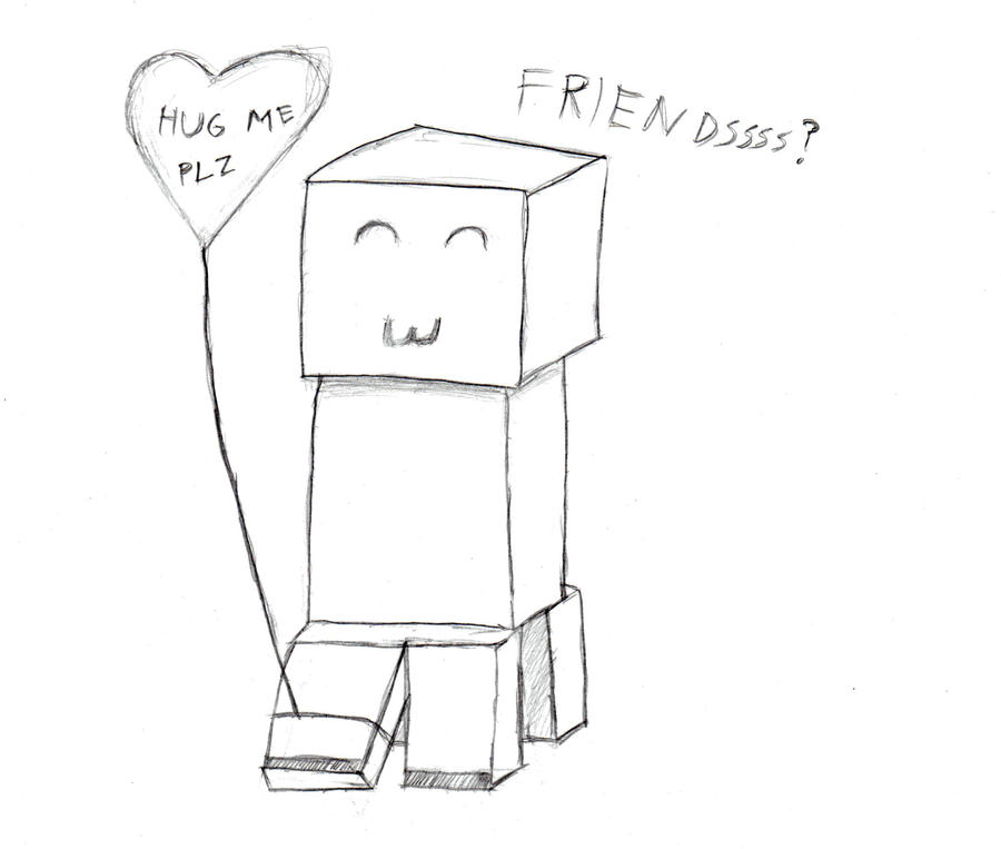 Creeper Pages Coloring Pages