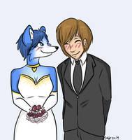 ::Art Trade:: A Wedding by MizzGenK
