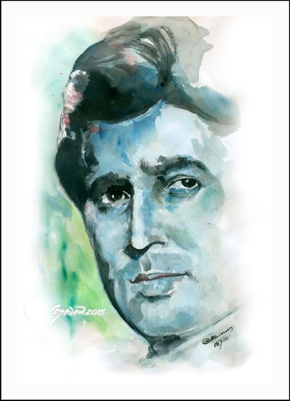 Rajesh Khanna - Portrait in Watercolor by staryaar