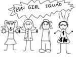 Teen Girl Squad (My version of clothing choice)