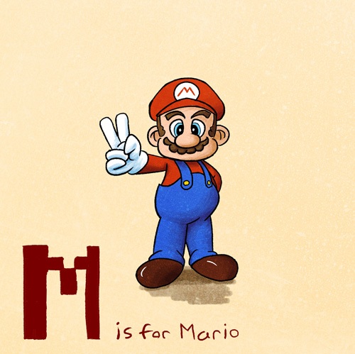 M is for Mario by KeithAErickson