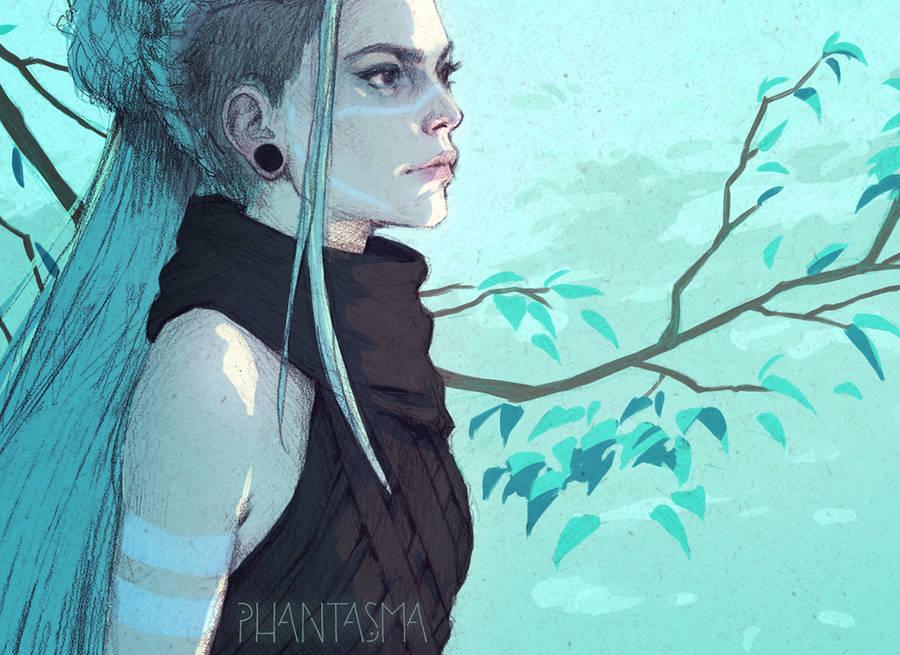 Phantasma: Leigh by DjamilaKnopf