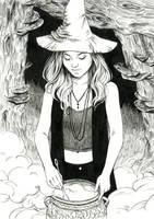 Reishi Witch by DjamilaKnopf
