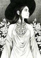 Gardenia Witch by DjamilaKnopf
