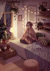 Snowy Nights by DjamilaKnopf
