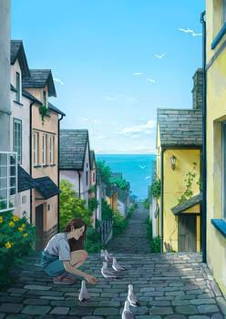 Seaside Town I