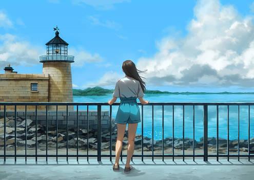 Seaside Town II