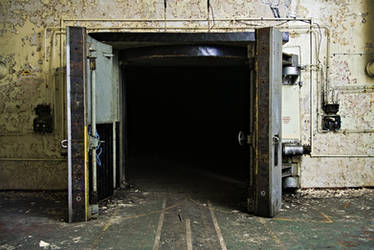 Entrance into the dark