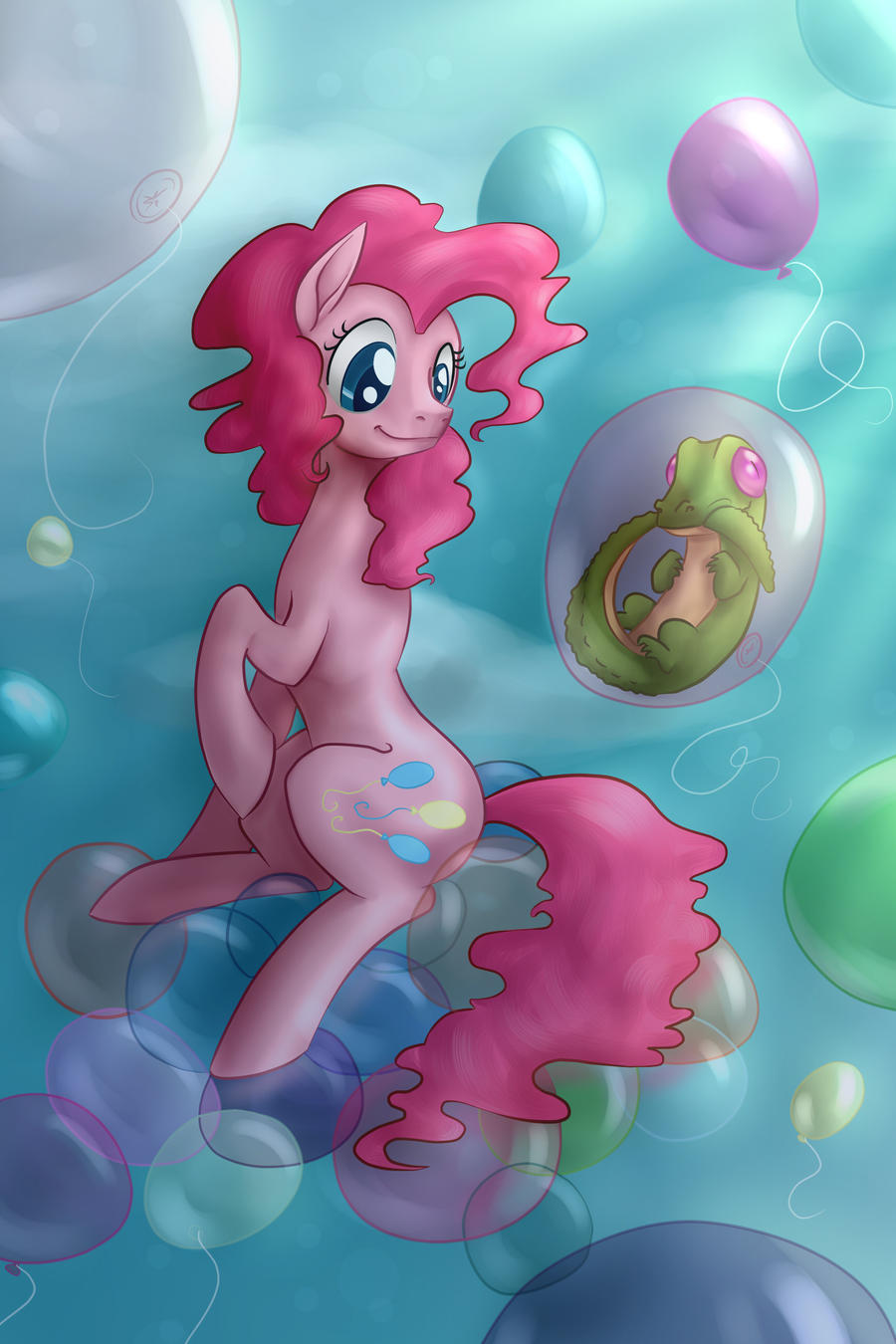 Balloon Party by Tzelly-El