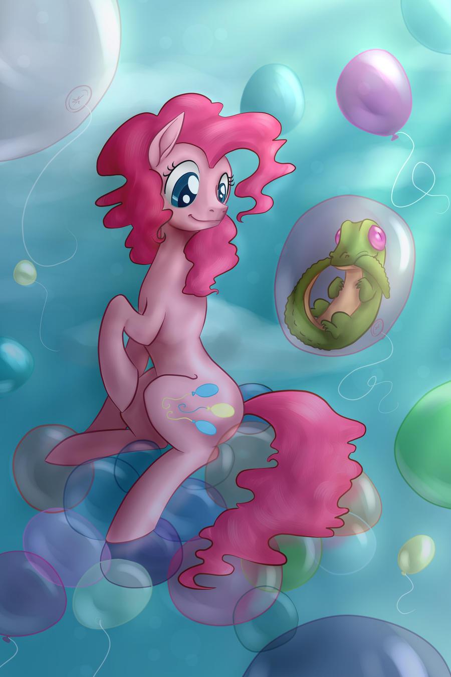 Balloon Party by Tzelly-El