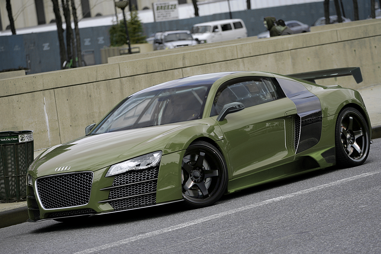 Audi R8 Tuned By Degraafm On Deviantart