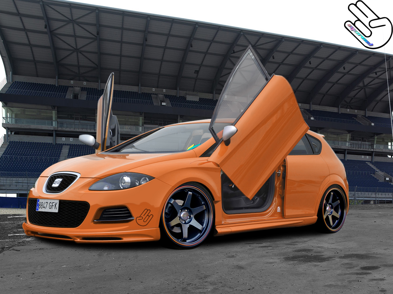 seat leon tuned by degraafm on deviantart. Black Bedroom Furniture Sets. Home Design Ideas