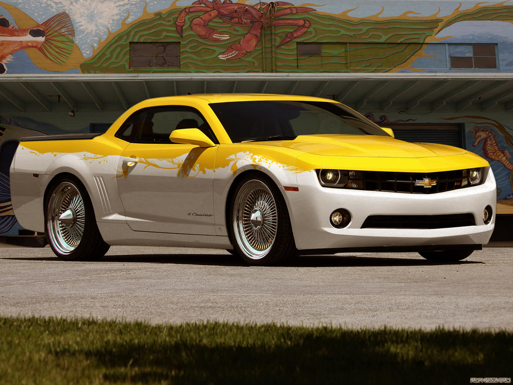 2010 Chevrolet El Camino by degraafm on DeviantArt
