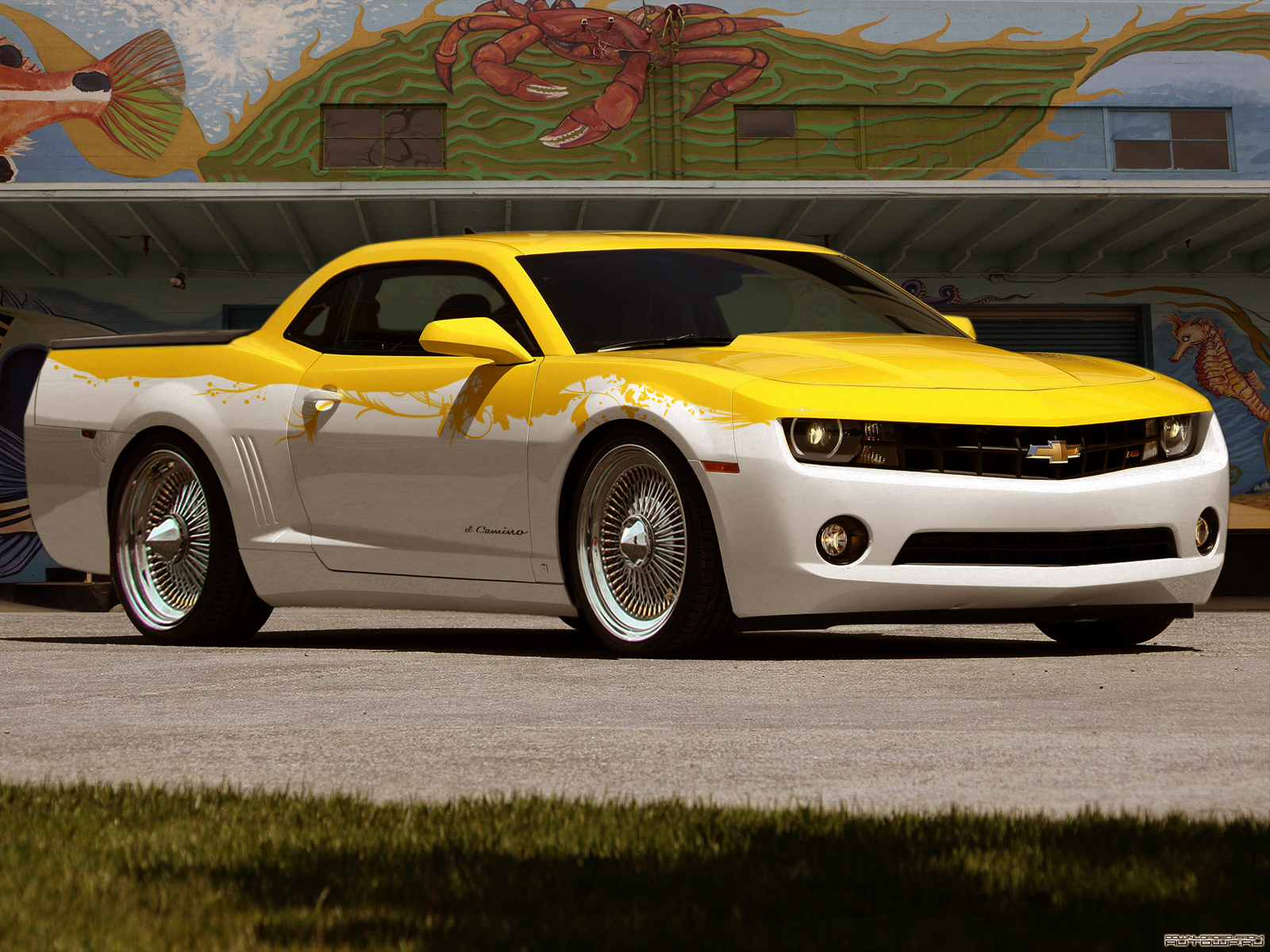 2010 Chevrolet El Camino By Degraafm On Deviantart