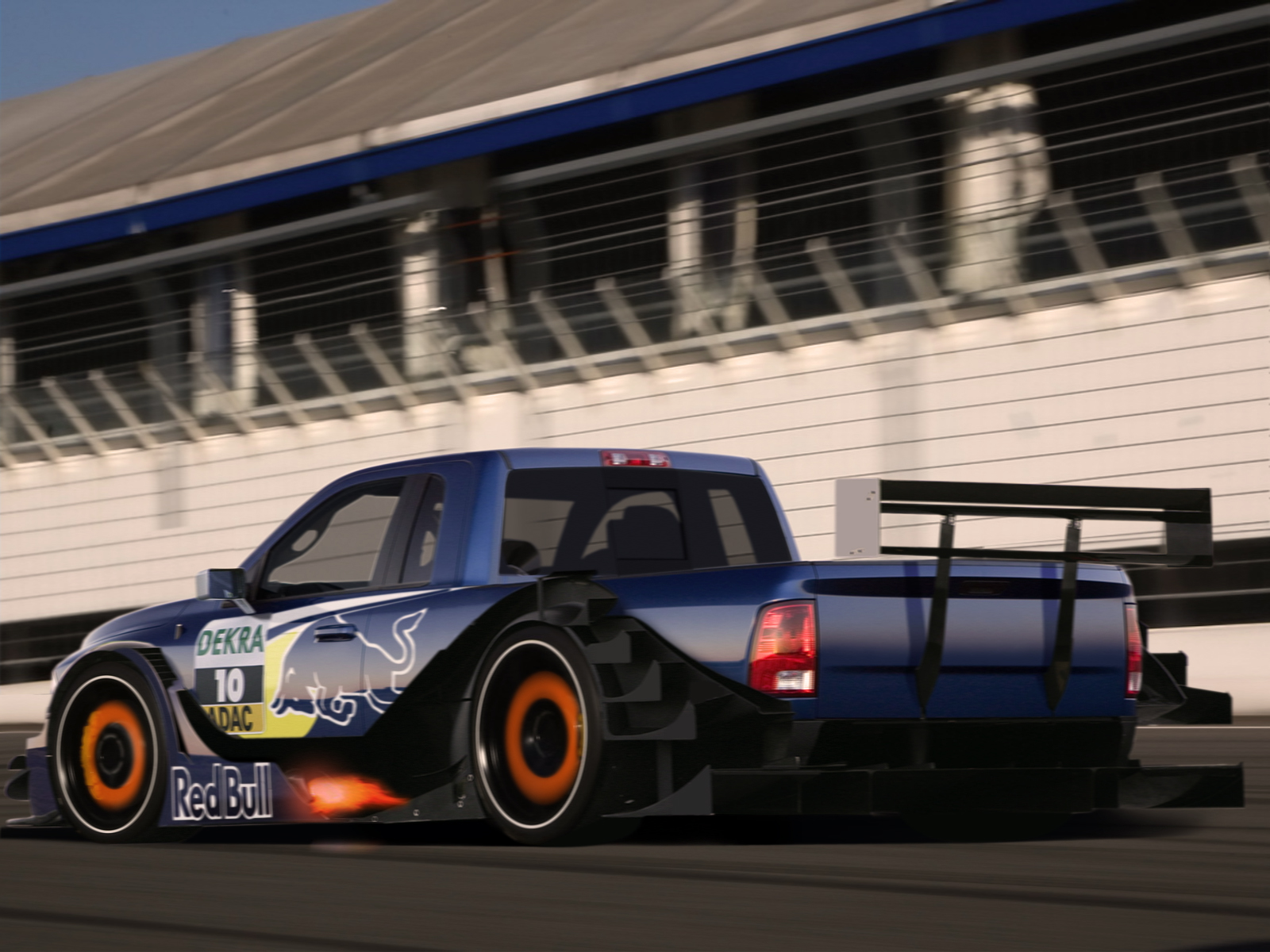 Dodge Ram Racing By Degraafm On Deviantart