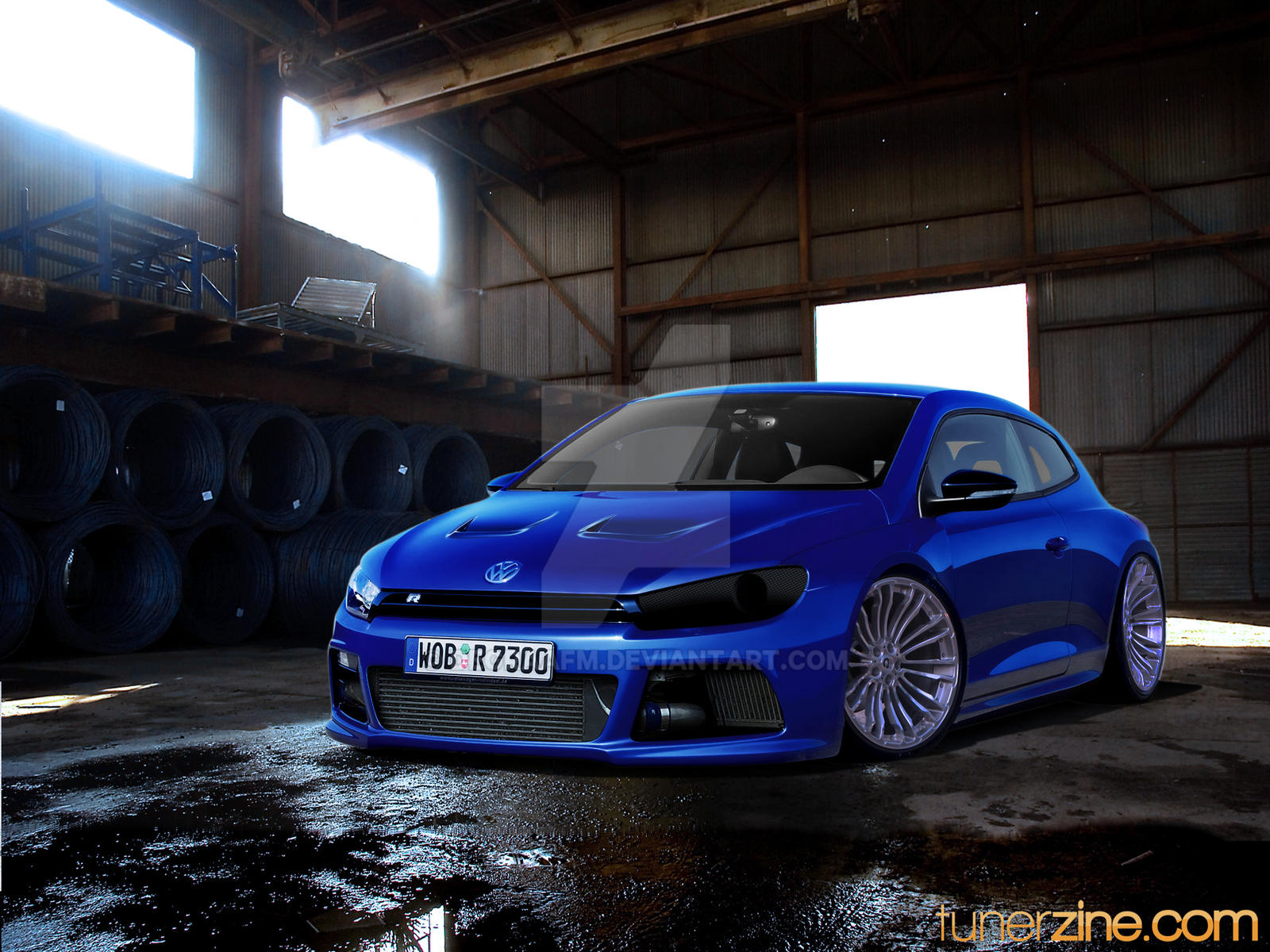 volkswagen scirocco tuned by degraafm on deviantart. Black Bedroom Furniture Sets. Home Design Ideas