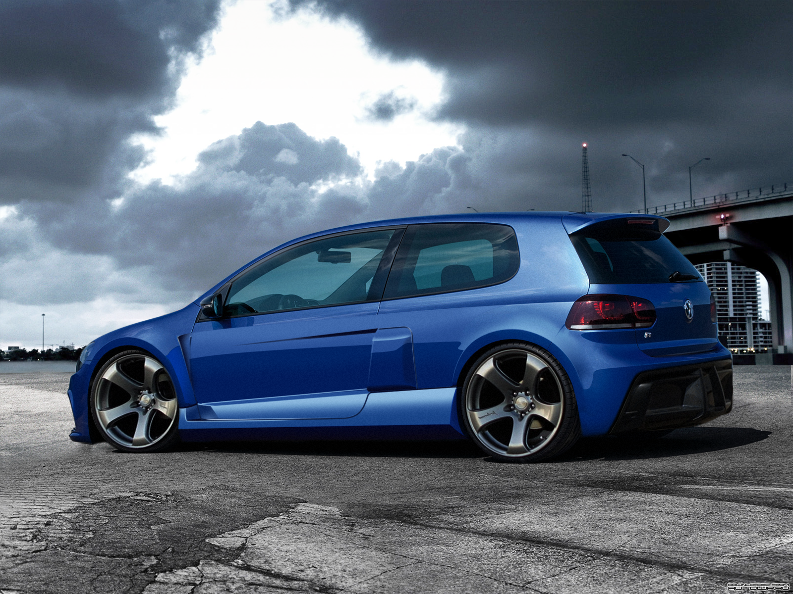 volkswagen golf r r by degraafm on deviantart. Black Bedroom Furniture Sets. Home Design Ideas